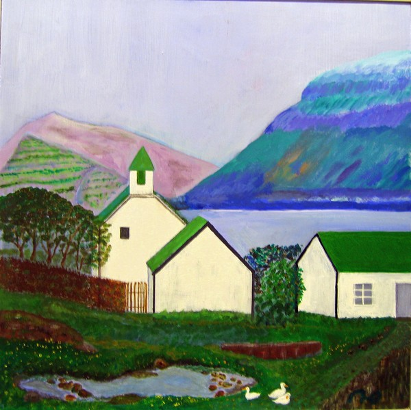 malerier fra færøerne